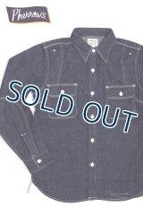 「Pherrow's/フェローズ」ワークシャツ770WS【デニム】