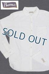 「Pherrow's/フェローズ」FRONTIER SERIES ワークシャツ【ホワイト】