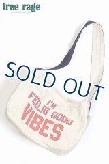 「FREE RAGE/フリーレイジ」VIBES ニュースペーパーバッグ